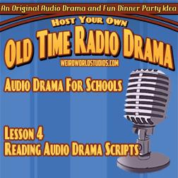Reading Audio Drama Scripts – Audio Drama for Schools Lesson 04