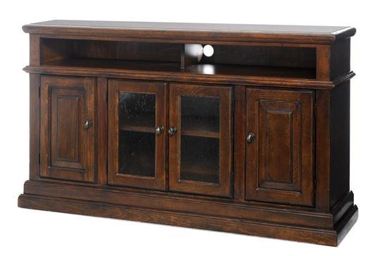 Pueblo Black Media Cabinet 70  Weirs Furniture