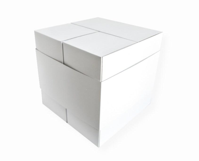 Adventskalender Cube Würfel geschlossen