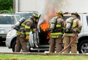 Vehicle Burns in Pennville - 06-07-2013