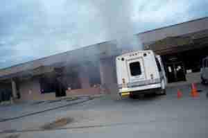 Bus Fire - 07-08-2013