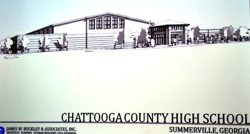 Chattooga County High School (new school plans)