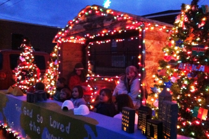 piedmont christmas parade