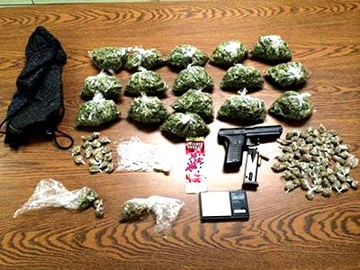 Piedmont Police Seize Two Pounds of Pot