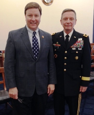 27 Feb 14 Rep Rogers and MG Terry