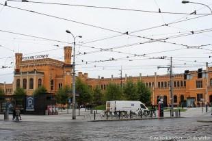 Breslau_Hauptbahnhof_imNeogotikTudorStil_ArchitektWilhelmGrapow