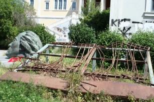 Athen_Polytechnikum_Denkmal_StudentenUnruhen1973