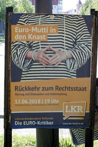München_KonservativeWahlwerbung_vor_der_bayr_Landtagswahl