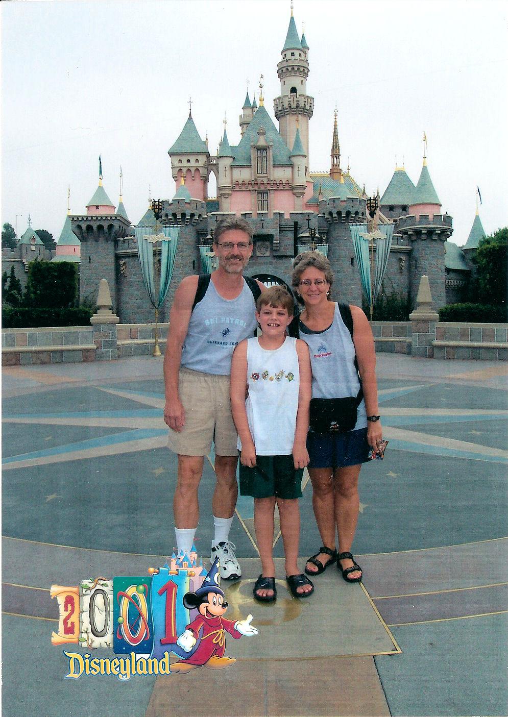 Disney Experiences 2001