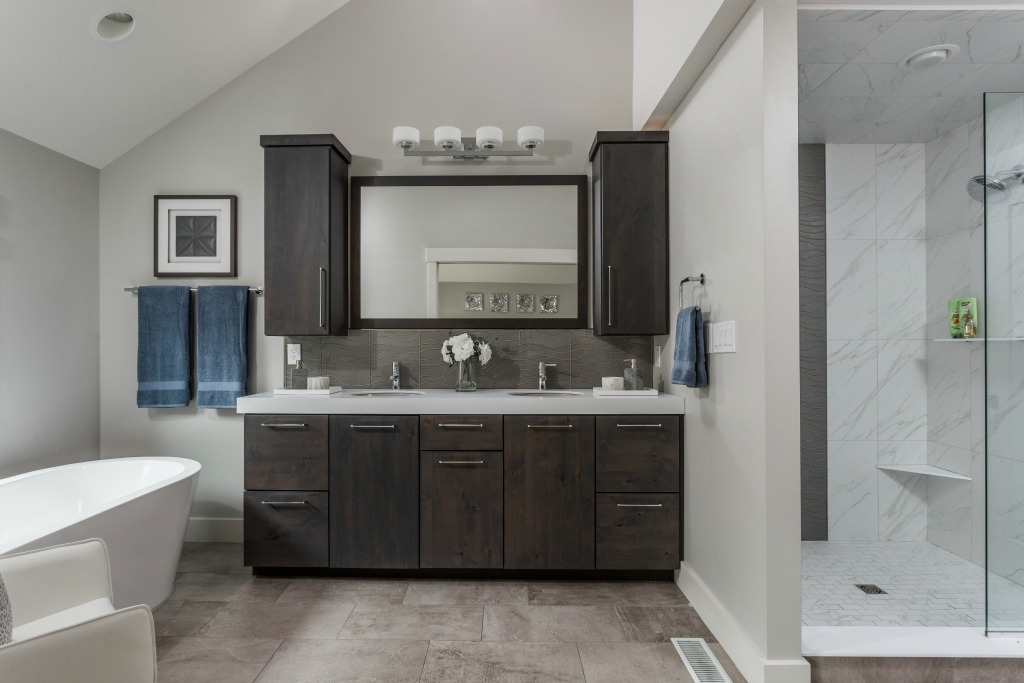 Zionsville Bathroom Remodel a modern rustic house remodel | stephanie weitkamp