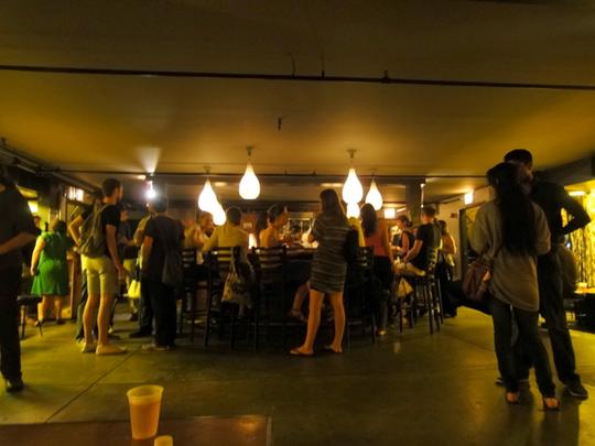 bowery ballroom bar
