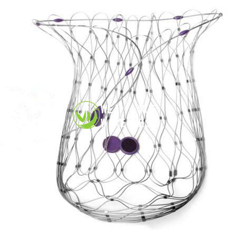 SS316 Stainless Steel Wire Rope Mesh Anti-theft Bag