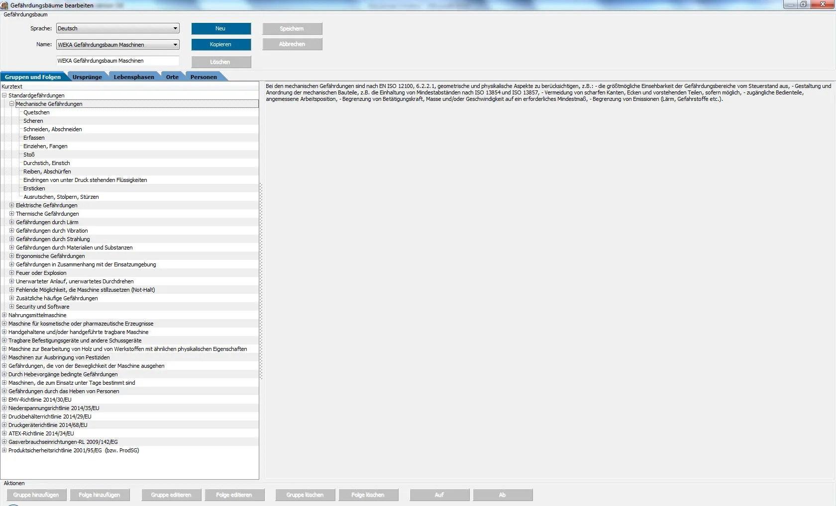 Update-Informationen zur Software WEKA Manager CE