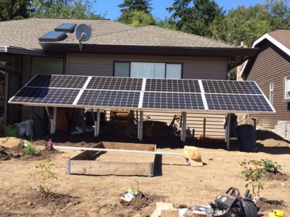 Wekking Electric Solar Panel job