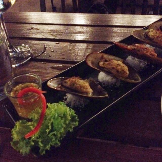 ยำหอยแมลงภู่