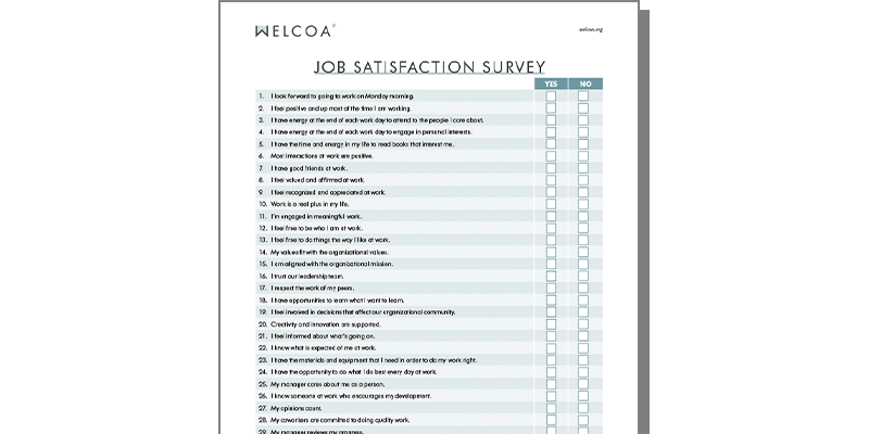 Employee Job Satisfaction Survey
