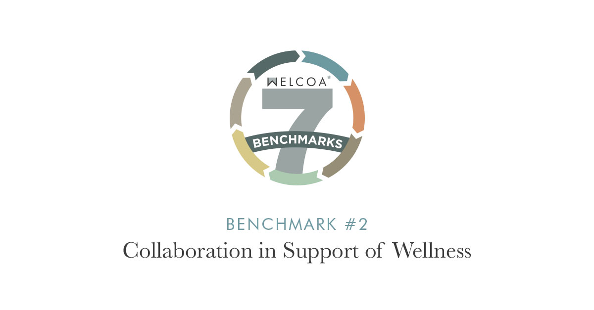 Benchmark #2: Collaboration in Support of Wellness