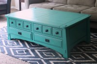 Coffee Table Makeover - Welcome to the Woods