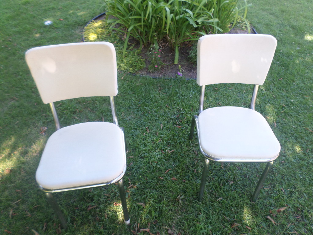 steel vinyl chair dining seat covers walmart how to reupholster chairs welcome the woods