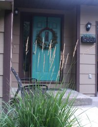 Front Entrance Curb Appeal - Welcome to the Woods