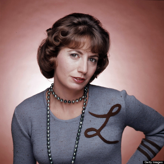 Laverne DeFazio, played by Bronxite Penny Marshall / LAVERNE & SHIRLEY - Gallery - Shoot Date: December 18, 1975. (Photo by ABC Photo Archives/ABC via Getty Images) PENNY MARSHALL
