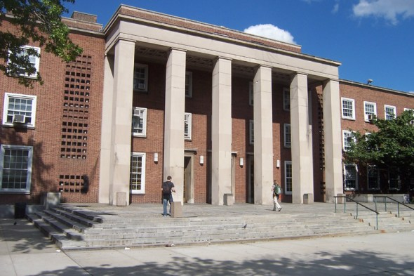 "Queens Borough Hall was constructed in 1940 and is the ""youngest"" of the bunch / Image Credit: Wasted Time R / Wikipedia"