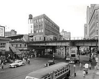 The Hub in 1951