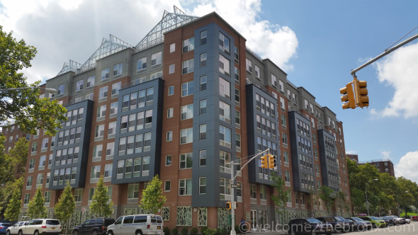 """Arbor House, one of the many """"affordable"""" housing developments constructed throughout The Bronx."""