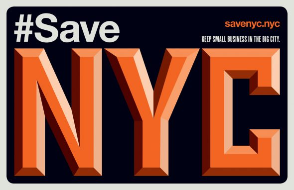 Image Courtesy of SaveNYC, a campaign to save NYC from over development and destruction of our working class neighborhoods, small businesses and mom and pop shops.