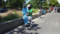 More kids learning how to skate at Boogie on the Boulevard this past Sunday, August 9th