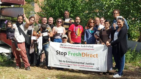 On Saturday, less than 48 hours after Ruben Diaz Jr, FreshDIrect and co celebrated the partnership between the two companies, Port Morris Distillery founder Ralph Barbosa announced that they were severing their partnership with FreshDirect after meeting with community members and South Bronx Unite.