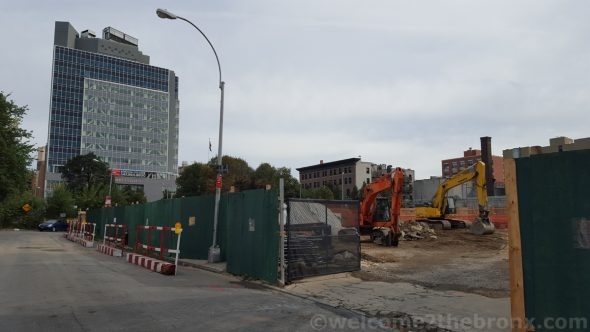 Elton Crossing, 263 unit development with two buildings at 8 and 12 stories is well under construction already.