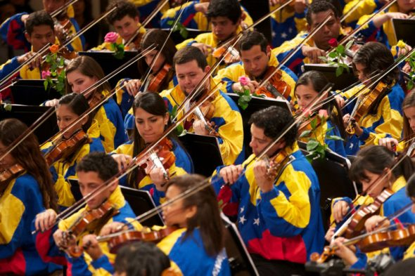 The Youth Symphony Orchestra of Caracas