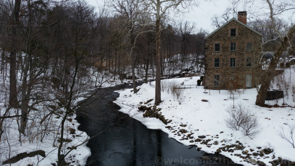 The Snuff Mill along The Bronx River at The New York Botanical Garden was built by the tobacco family The Lorillards.