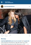 You know your neighborhood is in for major trouble when Naomi Campbell shows up to a party at your doorsteps. Although we all know these folks are paid to make appearances at such events.