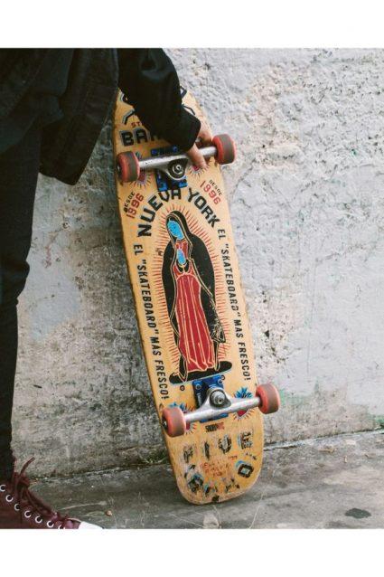 Sam's Skateboard / PHOTO: COURTESY OF LAUREL GOLIO.