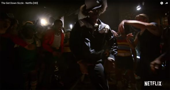 In this screen shot of The Get Down trailer you can see how photographer Joe Conzo, Jr's iconic images influenced in getting a feel for that time. (See Joe Conzo's Image below)