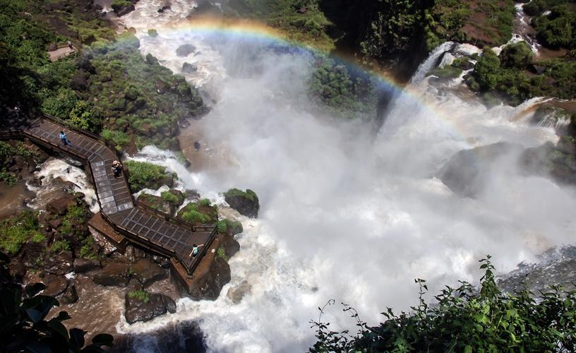 Cataratas del Iguazú desde el circuito inferior