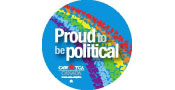 Proud to be Political logo