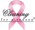 cleaning for a reason logo transparent