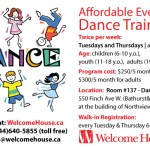 Dance Training with Welcome House