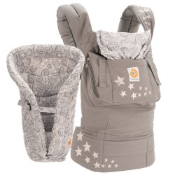 original porte bebe et oreiller galaxy grey