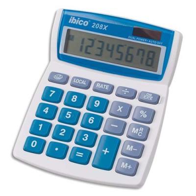 calculatrice de bureau ibico calcul 208x 8 chiffres