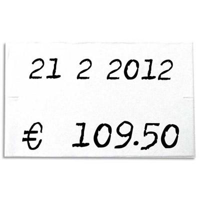 Rouleau de 1000 étiquettes 26 x 16 mm pour pinces 151992