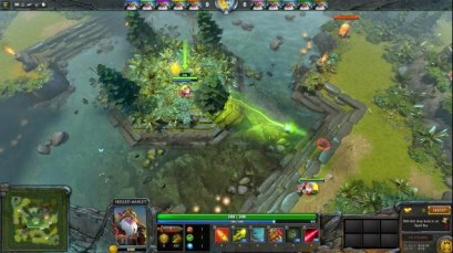 Dota 2 custom game Skill Fighters 2
