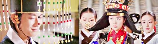 Traditionalle Hochzeit in Korea