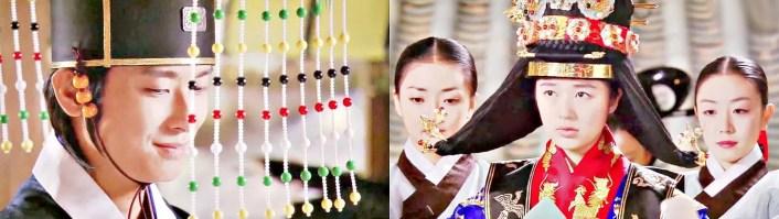 Traditionelle Hochzeitzeremonie in Korea