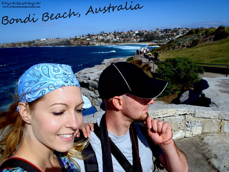 Selfies Through Asia | Being tourists at Bondi Beach, Sydney, Australia | www.welcometoerinsworld.com