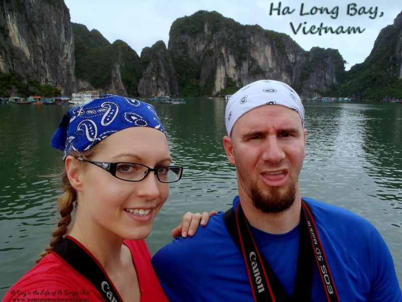 Selfies Through Asia | Boating through Ha Long Bay, Vietnam | www.welcometoerinsworld.com