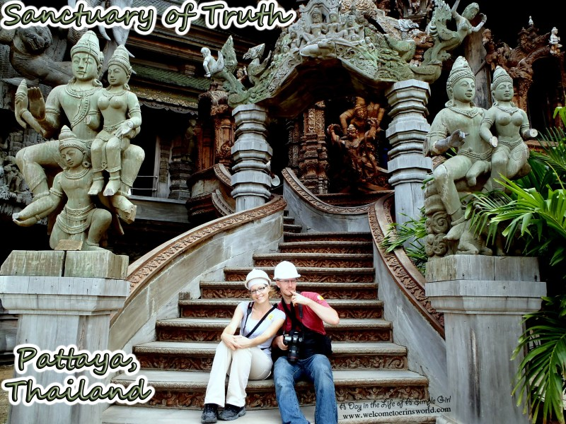 Selfies Through Asia | Sanctuary of Truth, Pattaya, Thailand | www.welcometoerinsworld.com